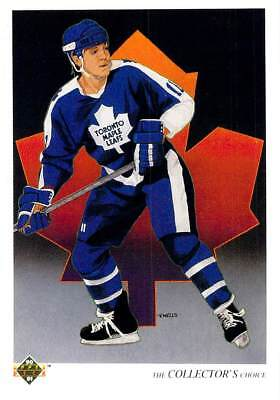 Gary Leeman Toronto Maple Leafs 1990 Upper Deck #310
