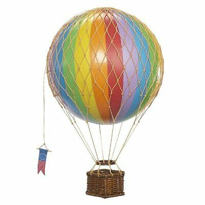 Floating The Skies Hot Air Balloon Model - Rainbow by Authentic Models No TAX Fr