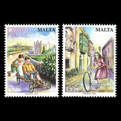 """Malta 2015 - EUROPA Stamps """"Old Toys"""" - MNH"""