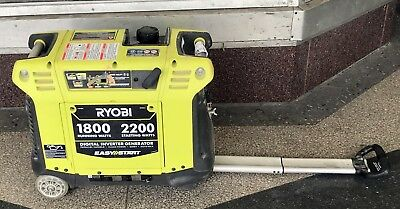 Ryobi (RYI2200) 2,200-Watt Green Gasoline Powered Digital Inverter Generator