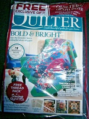 Today's Quilter Magazine Issue 35 with Free Quilter's Graph Paper (new) 2018