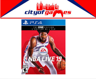 NBA Live 19 PS4 Game Brand New & Sealed In Stock
