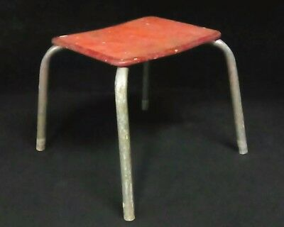 Peachy Vintage Step Stool Antique Primitive Wood Metal Milking Andrewgaddart Wooden Chair Designs For Living Room Andrewgaddartcom