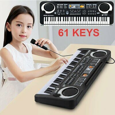 61 Key Digital Music Electronic Keyboard Children Toy Electric Piano Organ Gift