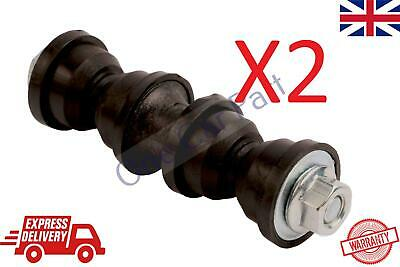 2X Ford Focus II III REAR ANTI ROLL SWAY TORSION STABILISER BAR LINK ROD BUSHES