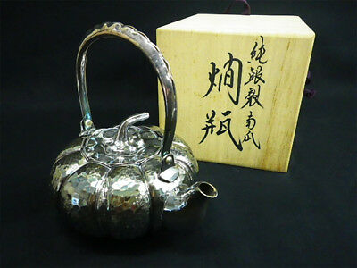 Sterling silver made Uri style bottle beautiful silver botltle with teapot