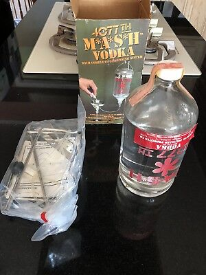 NEW MASH 4077th Vodka-Dispensing System Decanter - New, NIB, Hawkeye, M*A*S*H