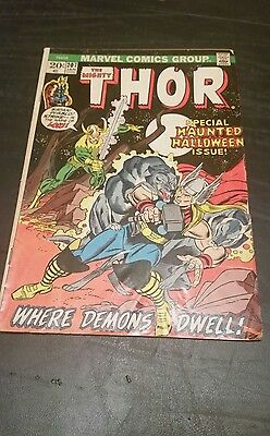 The mighty Thor #207 comic bronze age