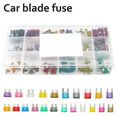 165 PC Blade Fuse Assortment Auto Car Truck Motorcycle FUSES Kit ATC ATO ATM