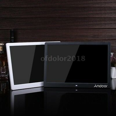 """Andoer 15.6"""" High Resolution 1280*800 LED Digital Photo Picture Frame A9S9"""