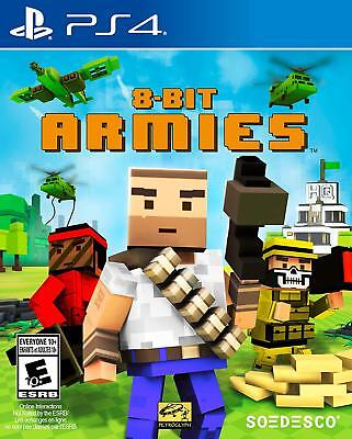 8 Bit Armies - PS4 PlayStation 4!  NEW & SEALED!