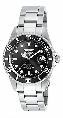 Invicta 8932OB Pro Diver Unisex Wrist Watch Stainless Steel Quartz Black Dial