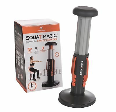 New Image Squat Magic Lower Body and Core Workout Exercise Machine