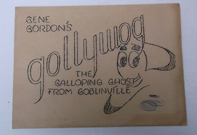 Vintage Magic Trick GENE GORDON'S GOLLYWOG  - AS IS FOUND - ESTATE FIND