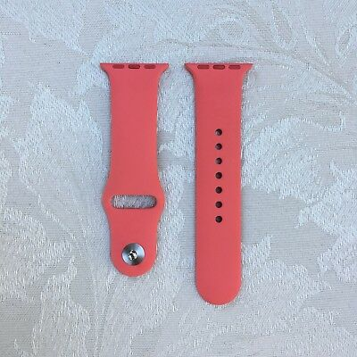 *Rare* NEW Authentic Genuine Apricot Apple Watch Sport Band 38mm S/M