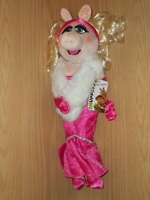 """NEW NWT The Muppets 2011 Movie MISS PIGGY in Pink Disney Store 19"""" 20"""" Plush"""