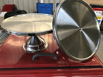 Stainless Steel Cake Stand 32cm