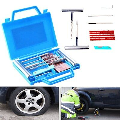 11pcs Heavy Duty Tire Repair Car Tire Puncture Repair Plug Set Tyre Repair Kit