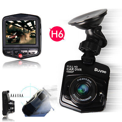 "1080P HD 2.4"" Vehicle Car DVR Dash Cam Video Recorder Night Vision G-Sensor 170°"