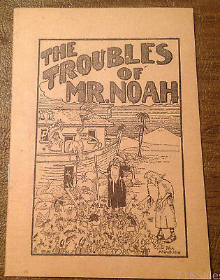 1915 Black Flag Bug Insect Powder Troubles of Mr. Noah Ad Brochure Instructions