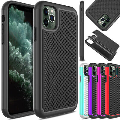 For iPhone Xs Max/Plus Phone Case Slim Shockproof Hybrid Rugged Hard Armor Cover