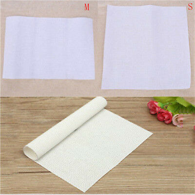 white cotton 11ct aida cloth cross stitch fabric use for embroidery accessory AT