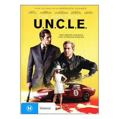 The Man From U.N.C.L.E. DVD Brand New Region 4 Aust.  UNCLE -  Henry Cavill