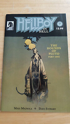 Hellboy In Hell # 7 The Hounds of Pluto Dark Horse August 2015 - VF+