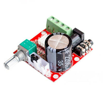 2X10W 12V Hi-Fi PAM8610 Audio Stereo Amplifier Board Module Dual D Class Channel