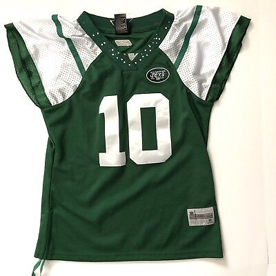new products bc28f 169dd NFL REEBOK AUTHENTIC Jersey New York Jets Holmes Womens Size M