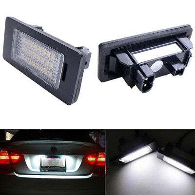 2pcs 24LED Error Free License Plate Light For BMW E92 E93 E90 E61 E60 E39