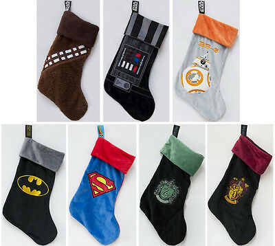 Harry Potter / Star Wars / DC Comics Christmas Stocking - New & Official In Pack