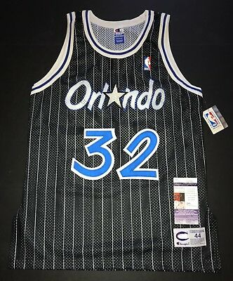 Shaquille O Neal Signed Champion Authentic Vintage Orlando Magic Jersey JSA  44 6555807c4