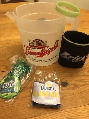 Leinenkugels Plastic Beer Pitcher With Accessories In Picture