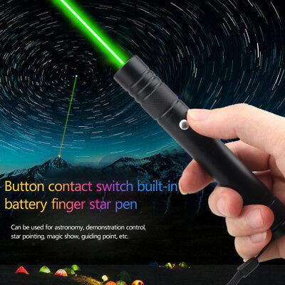 Green Red Laser pointer Pen Visible Beam Light USB Rechargeable Pen 532nm/650nm
