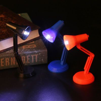 1:12 New Dollhouse Miniature Lamp LED Light Furniture Toy Dolls Pretend Play