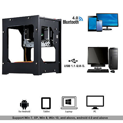 Laser Engraver Printer Machine 550*550 Pixel High Resolution for PC Pad Phone AU