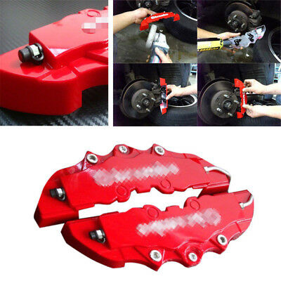 2 Pieces Fit For Car Wheel Brake Caliper Cover Front Rear Dust Resist Hot Sale
