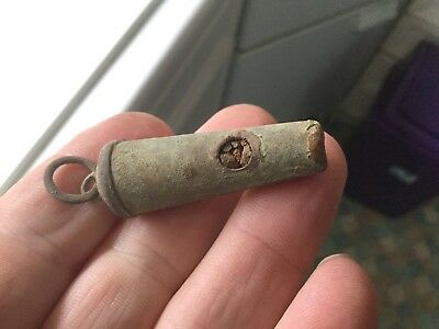 Old Complete Whistle/May Work But Full Of Soil
