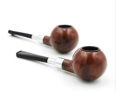Durable Resin Pipes Smoking Tobacco Pipe Cigarette Smoke Filter Pipes Gift