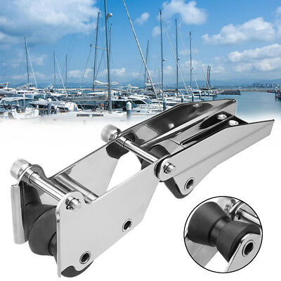 316 Stainless Steel Boat Hinged Bow Rubber Roller For Fixed Marine Yacht Docking