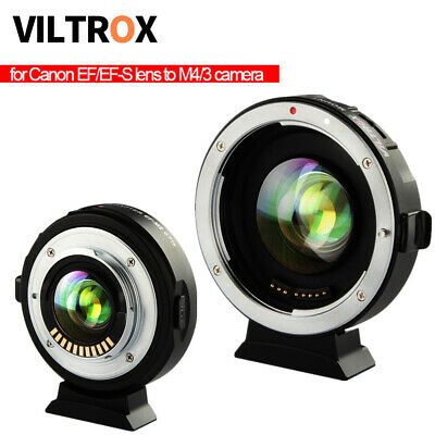 VILTROX EF-M2 Speedbooster Adapter M43 Lens Electronic Focus Reducer for Canon