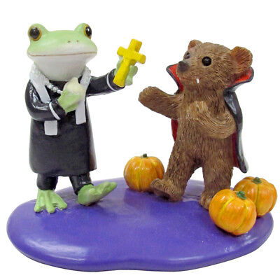 Copeau Frog Bear Halloween Vampire Dracula Mini Figurine Figure PVC Japan F/S