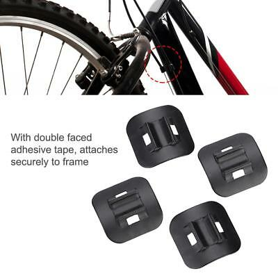 4Pcs Bike Brake Cable Guide Fitting Shifter Bicycle Line Tube Base Clip Buckle