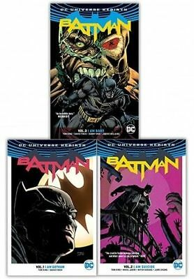 Batman Rebirth Collection by Tom King 3 Books Set I Am Gotham Suicide Bane NEW