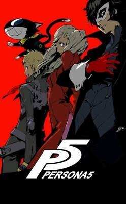 "YX02007 Persona 5 - Hot Video Game 14""x22"" Poster"