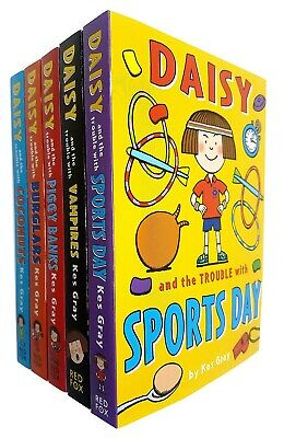 Kes Gray 5 Books Collection Set Daisy and the Trouble Series 2 Paperback NEW