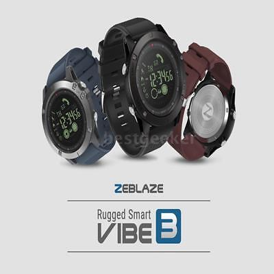 Zeblaze VIBE3 Smart Watch Phone Water-Proof Pedometer Remote Camera Android L2I8