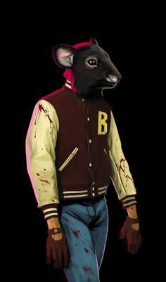 """YX01560 Hotline Miami - Hot Action Video Game 14""""x23"""" Poster"""