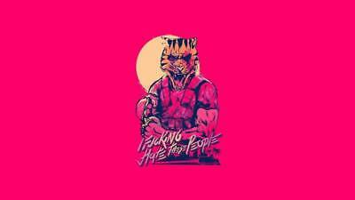 "YX01526 Hotline Miami - Hot Action Video Game 24""x14"" Poster"